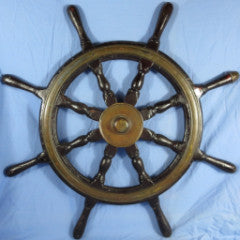 Finely Made Ship's Wheel