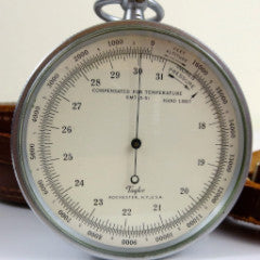Engineer's Taylor Barometer Altimeter--SOLD
