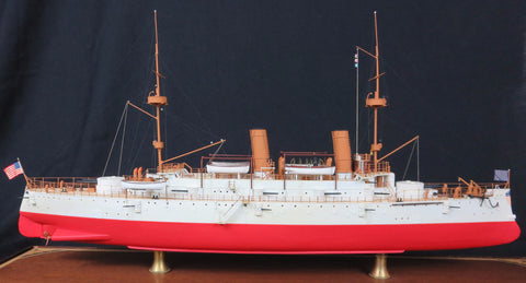 Great White Fleet Cruiser Olympia Ship Model