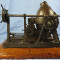 Webster's 1874 Patent Model For Improved Bessemer Process