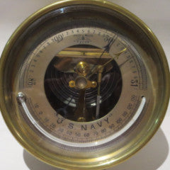 Barometer Thermometer For U.S. Navy By Short & Mason--SOLD