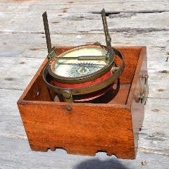 Dated 18th century Azimuth Compass