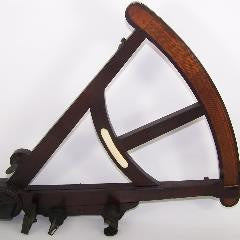 Ebony and Boxwood Octant--SOLD