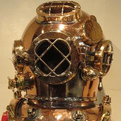 Miller Dunn Mark V Deep Sea Diving Helmet--SOLD