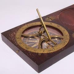 Inclining Sundial attributed to Benjamin Martin--SOLD