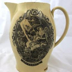 Washington Apotheosis Liverpool Jug--SOLD