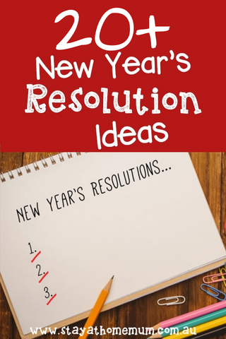 20+ New Year's Resolution Ideas