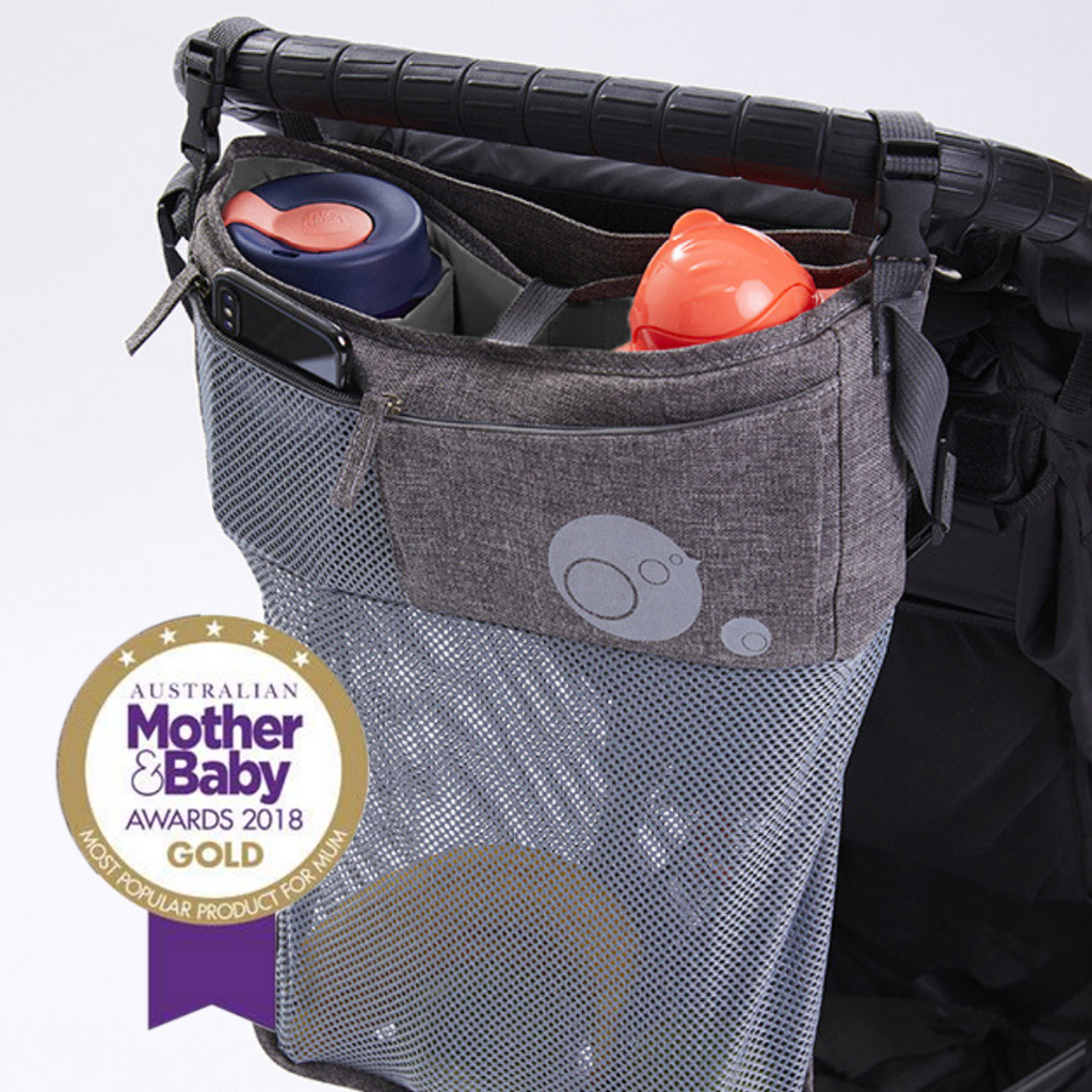 STROLLER ORGANISER - GREY | B.Box - Nurture Little Footprints