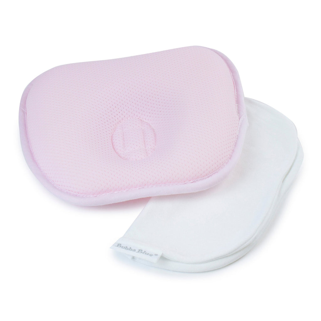 Bubba Blue Breathe Easy® Infant Head Rest -Pink