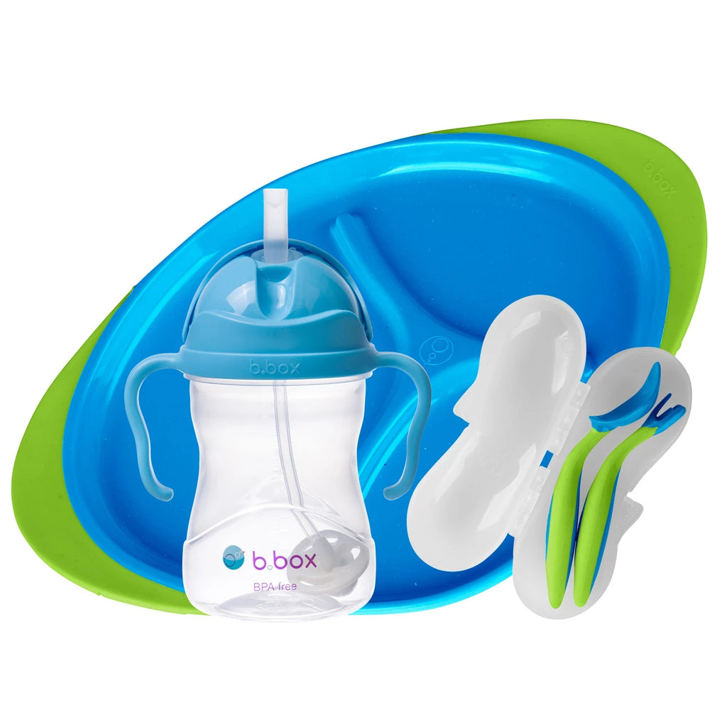 FEEDING SET - OCEAN BREEZE | B.Box - Nurture Little Footprints