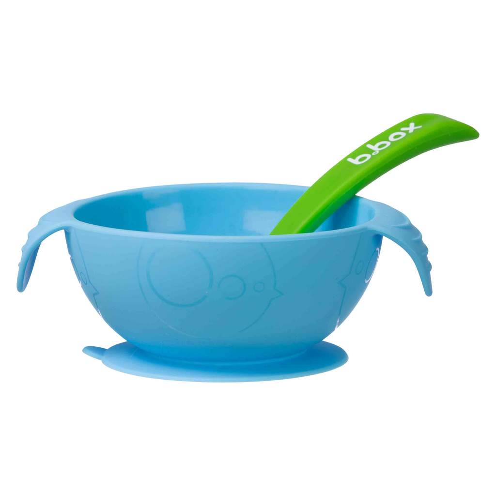 B.Box | SILICONE FIRST FEEDING SET - OCEAN BREEZE - Little Bamboos
