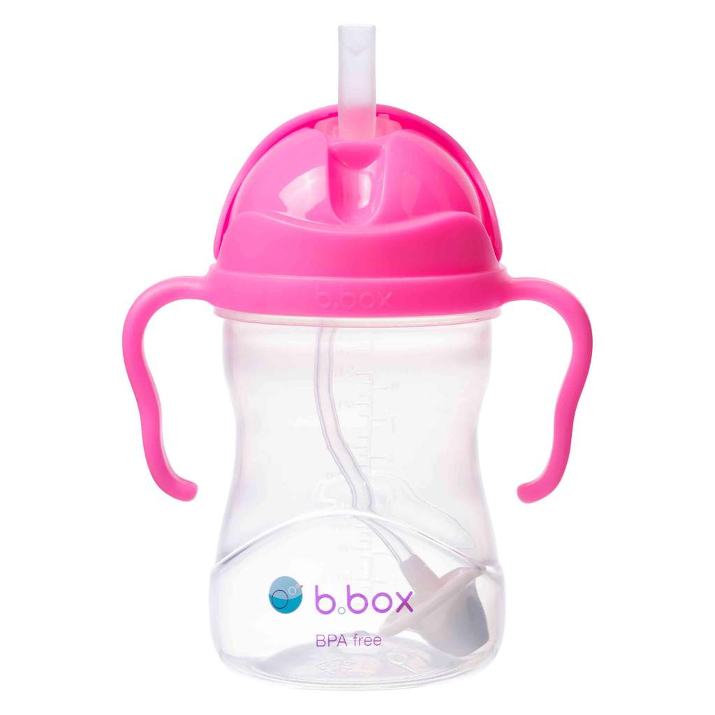 SIPPY CUP - PINK POMEGRANATE | B.Box - Nurture Little Footprints