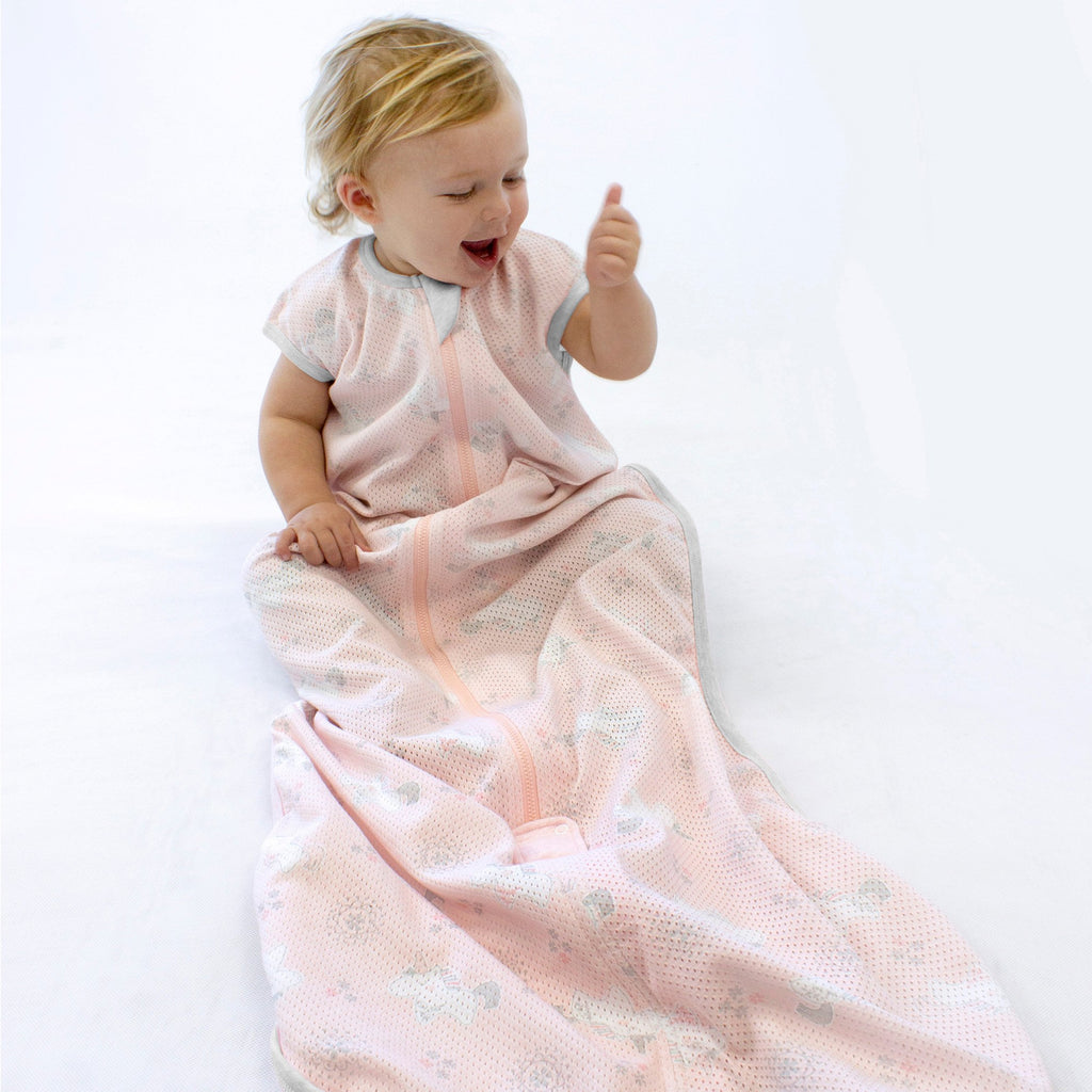 Air+ Sleep Bag Unicorn Magic | GOTS certified organic cotton | Bubba Blue - Nurture Little Footprints