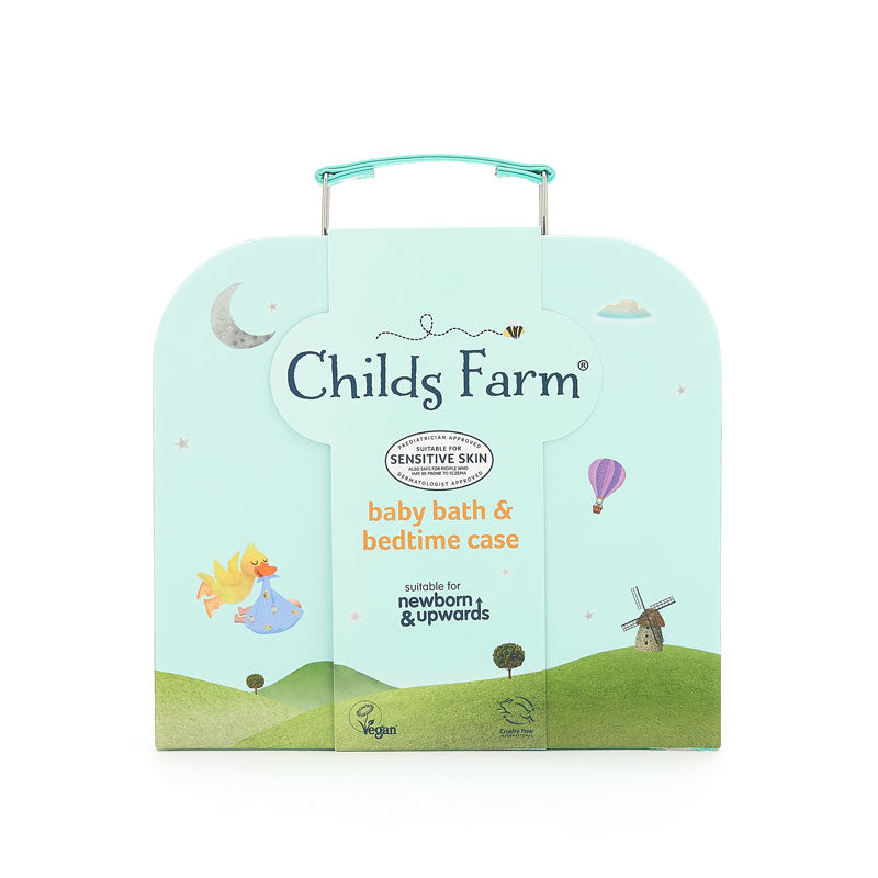 Childs Farm Baby Bedtime Suitcase - Little Bamboos