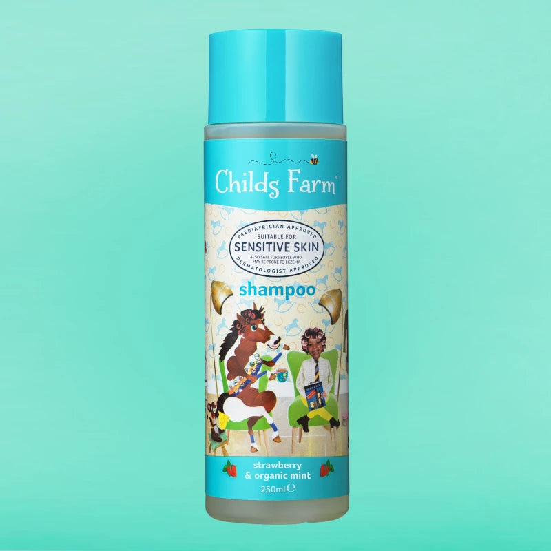 Shampoo, Strawberry & Organic Mint 250ml | Childs Farm - Nurture Little Footprints