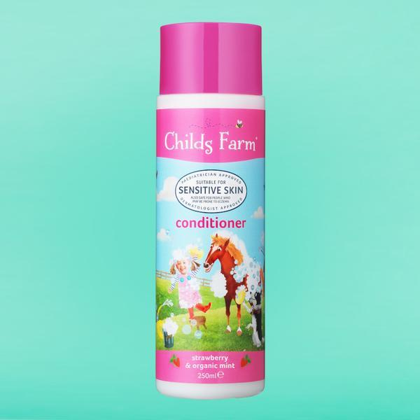 Conditioner Strawberry & Organic Mint 250ml | Childs Farm - Nurture Little Footprints