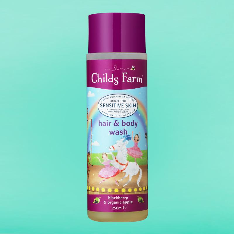 Hair & Body Blackberry & Organic Apple 250ml | Childs Farm - Nurture Little Footprints