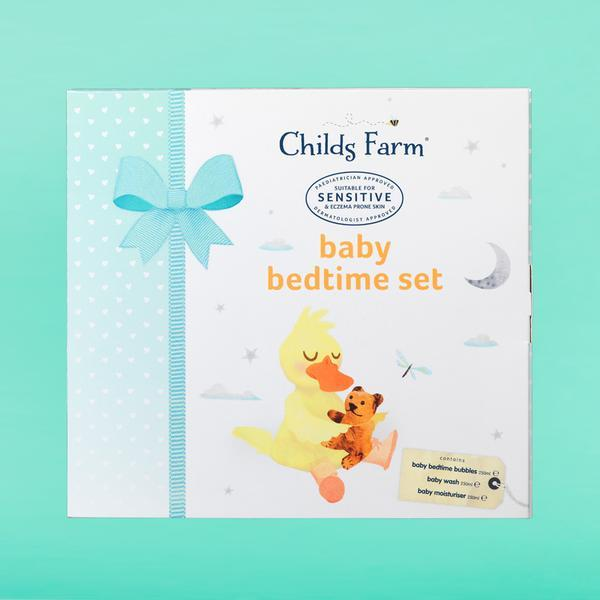 Baby Bedtime Set | baby lotions | Childs Farm - Nurture Little Footprints