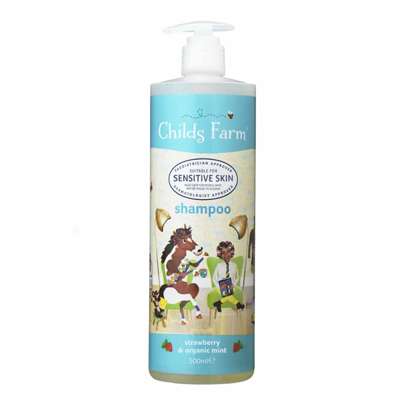 Shampoo, Strawberry & Organic Mint 500ml | Childs Farm - Nurture Little Footprints