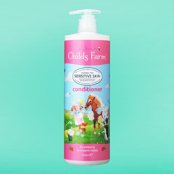 Conditioner Strawberry & Organic Mint 500ml | Childs Farm - Nurture Little Footprints