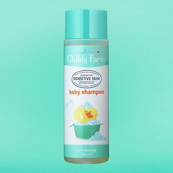 Baby Shampoo Unfragranced 250ml | Childs Farm - Nurture Little Footprints