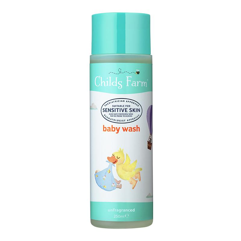 Baby Wash Unfragranced 250ml | Childs Farm - Nurture Little Footprints