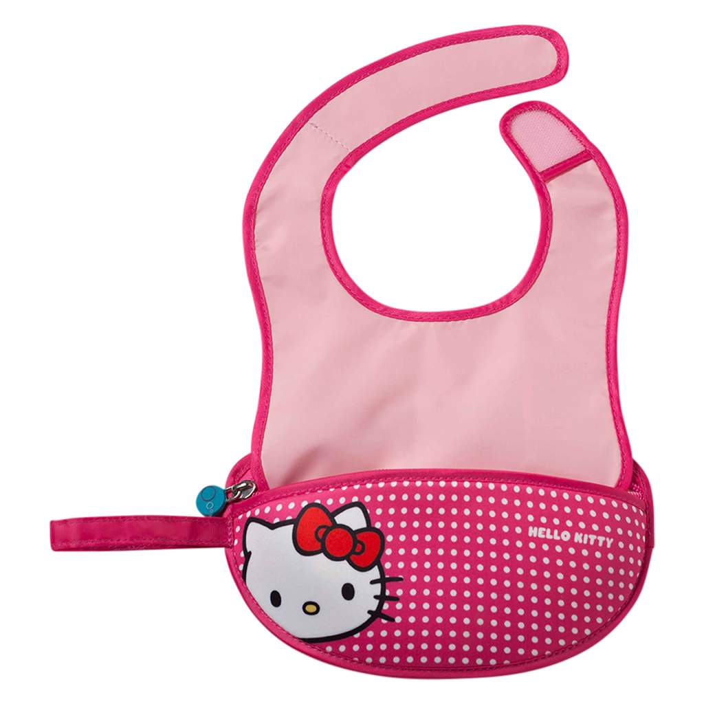 HELLO KITTY - TRAVEL BIB + SPOON POP STAR | B.Box - Nurture Little Footprints