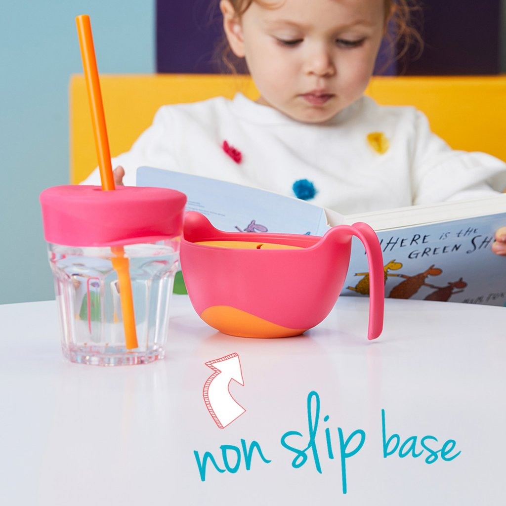 BOWL + STRAW - OCEAN BREEZE | B.Box - Nurture Little Footprints