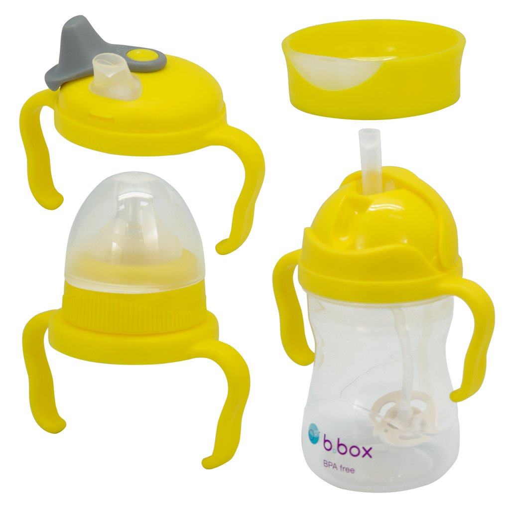 B.Box | TRANSITION VALUE PACK - LEMON| SIPPY CUP - Little Bamboos