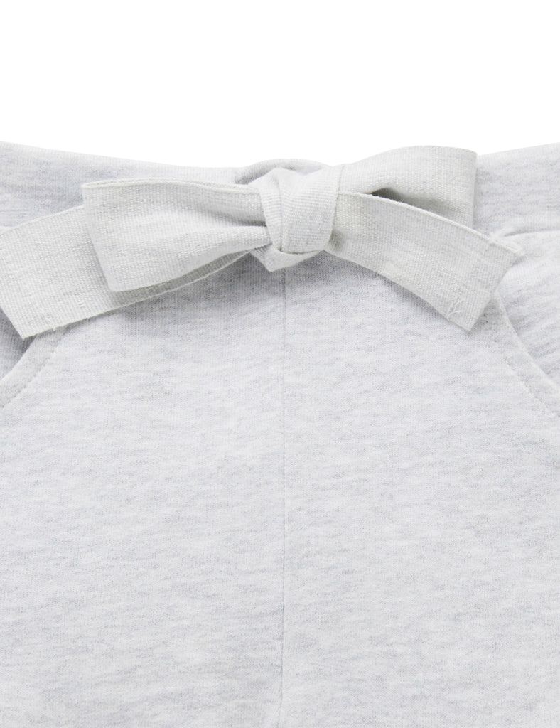 Purebaby | Ruffle Shorts | Pale Grey