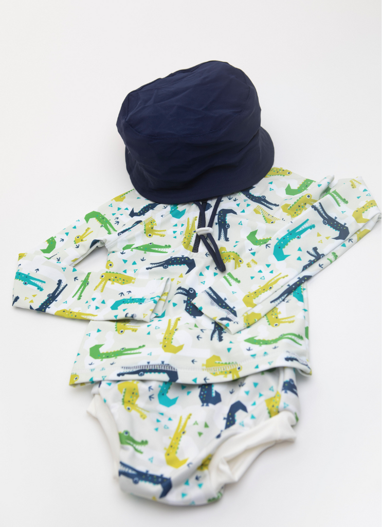 Swim Hats | Bambooty - Nurture Little Footprints