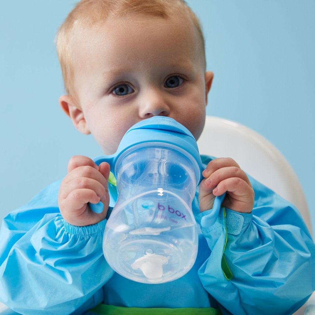 Baby drinking B.Box | SIPPY CUP