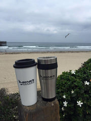 Kono's Coffee Travel Mug White
