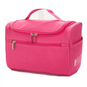 Women's Large Waterproof Cosmetic Bag
