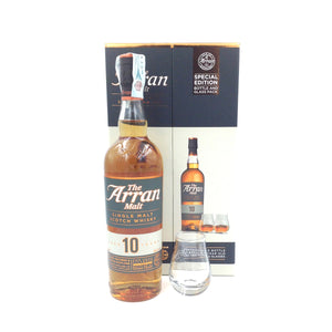 ARRAN 10YO 70CL 46% GIFT BOX WITH 2 TASTING GLASS