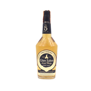 GLEN SALEN 75CL 40% OVER 5YO