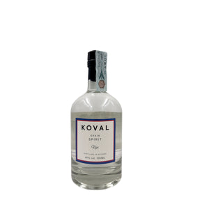 KOVAL WHITE RYE GRAIN WHISKEY 50CL 40%