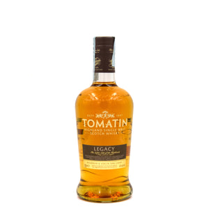 TOMATIN LEGACY NEW LABEL 70 CL 43%