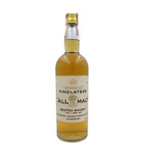 FINDLATER'S ALL MALT OVER 5YO 43% 75CL