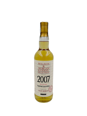 GLEN MORAY 2007-2019 MARSALA FINISH WILSON&MORGAN 70CL 46%