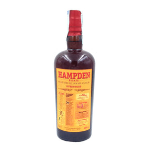 RUM HAMPDEN PURE SINGLE JAMAICAN RUM 70CL 60%