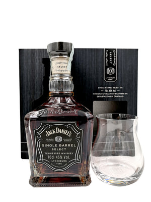 JACK DANIEL'S SINGLE BARREL SELECT + BICCHIERE 70CL 45%