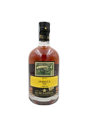 RUM NATION JAMAICA 5YO POT STILL OLOROSO FINISH 70CL 50%