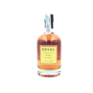 KOVAL BOURBON WHISKEY 50CL 47%