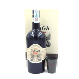 RUM NAGA INDONESIA GIFT BOX WITH 2 GLASSES 70CL 40%