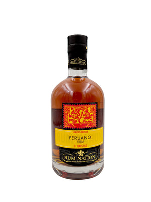 RUM NATION PERUANO 8YO 70CL 42%