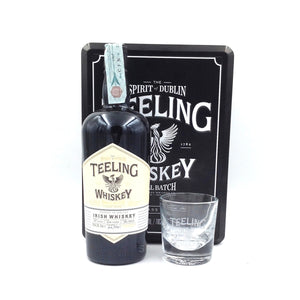 TEELING SMALL BATCH 70 CL 46% RUM CASK GIFT BOX WITH 2 GLASSES