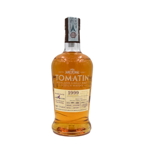 TOMATIN BEIJA FLOR SINGLE BOURBON CASK 18YO 57,1% 70CL