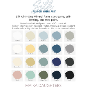 Silk All-In-One Paint | Whitecap