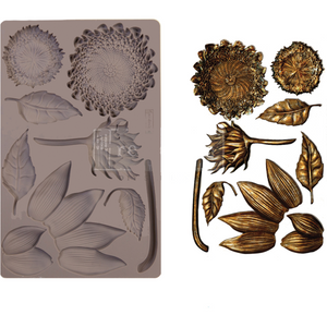 mold to make sunflowers by redesign with prima